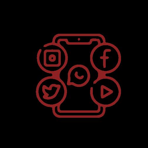 social media marketing icon